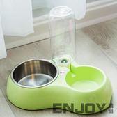新年鉅惠 狗碗雙碗貓碗寵物食盆不銹鋼自動飲水器貓盆狗糧盆喂食器寵物用品