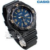 CASIO卡西歐 MRW-200H-2B3 日期顯示窗 運動錶 男錶 學生錶 軍錶 潛水錶 數字錶 黑x藍色 MRW-200H-2B3VDF