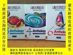 二手書博民逛書店Password罕見English: Anthology 3 ;4;6;Year 3  P4 (Password