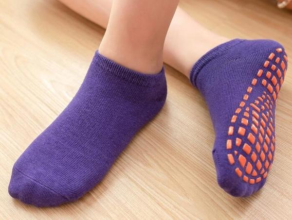 女童襪子 地板襪防滑寶寶室內居家學步早教光腳襪子男女童中筒兒童短襪【快速出貨八折搶購】