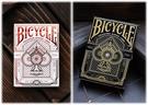 【USPCC 撲克】Bicycle gentleman black/white