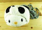【震撼精品百貨】Hello Kitty 凱蒂貓-造型斜背包-熊貓