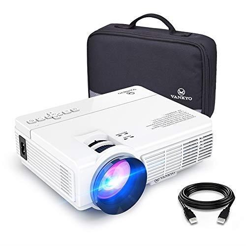 【美國代購】VANKYO LEISURE 3迷你投影儀 全高清1080P和170英寸顯示器 支援 2400 Lux
