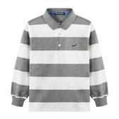 『小鱷魚童裝』條紋POLO衫(02號~08號)534130