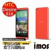 ☃極滑!超股溜☃ iMOS HTC Desire 816 Touch Stream 霧面 零反光 螢幕保護貼