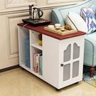 收納櫃 北歐邊几角几客廳邊角櫃沙發旁側邊儲物櫃迷你小桌子可移動小茶几 開春特惠