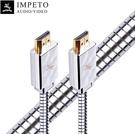 IMPETO【日本代購】意大利 立體影視音頻線HDMI 2.0b 1m - 德國製