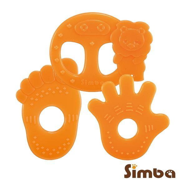 小獅王辛巴 柑橘香矽膠固齒器