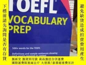 二手書博民逛書店Kaplan罕見TOEFL Vocabulary Prep Ka