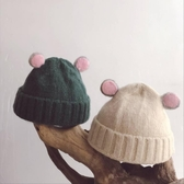 秋冬季羊毛保暖兒童帽子針織毛線寶寶帽子韓版潮男女童嬰兒毛線帽