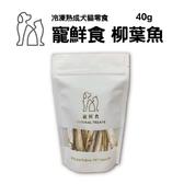 寵鮮食 冷凍熟成犬貓零食-柳葉魚40g