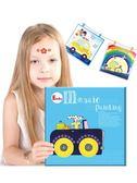 Endu兒童創意手工制作馬賽克貼畫 幼兒園diy粘貼畫材料 新年禮物【快速出貨】