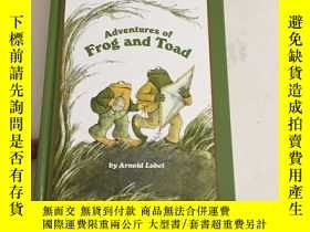 二手書博民逛書店Adventures罕見of Frog & Toad (I Can Read Series) 精裝 內有點鉛筆劃線