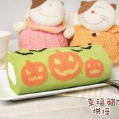 糖果貓烘焙.萬聖抹茶紅豆蛋糕捲(420g/條)★預購﹍愛食網