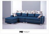【MK億騰傢俱】BS139-01艾克隆L型布沙發
