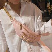 胸包上新小包包女包新款春季斜挎包時尚錬條包蹦迪包時尚胸包女包  享購