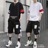 13青少年14潮男孩子15初中學生休閒運動套裝16歲高中夏裝帥氣一套 依凡卡時尚