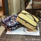 便當袋 卡通大號飯盒袋橫版保溫大容量保鮮防水餐盒兒童餐盤袋手提便當包 618購物節