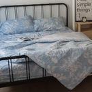 藍色花嫁 S3單人床包雙人兩用被三件組 ...