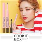 韓國 3CE STUDIO 雙頭 三角 眉筆 & 定型 染眉膏(0.25g+3g) 兩用 自然 眉型 *餅乾盒子*