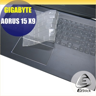 【Ezstick】GIGABYTE AORUS 15 X9 奈米銀抗菌TPU 鍵盤保護膜 鍵盤膜