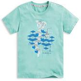 【101原創】台灣製.北極熊短袖T恤上衣(男女適穿)-8601070