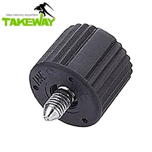 我愛買#台灣製造Takeway鉗式腳架T1雲台旋紐T-BK01旋鈕 T1鉗式腳架雲台旋鈕TBK01旋鈕T1+雲台旋鈕