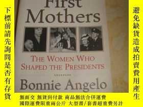 二手書博民逛書店First罕見Mothers: The Women Who Sh