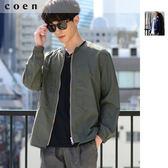 尼龍 無領夾克 男 免運費 日本品牌【coen】