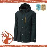 【Wildland 荒野 男款 絲絨 時尚防風保暖外套《鐵灰》】0A-3291095/防潑水外套/連帽外套/透氣