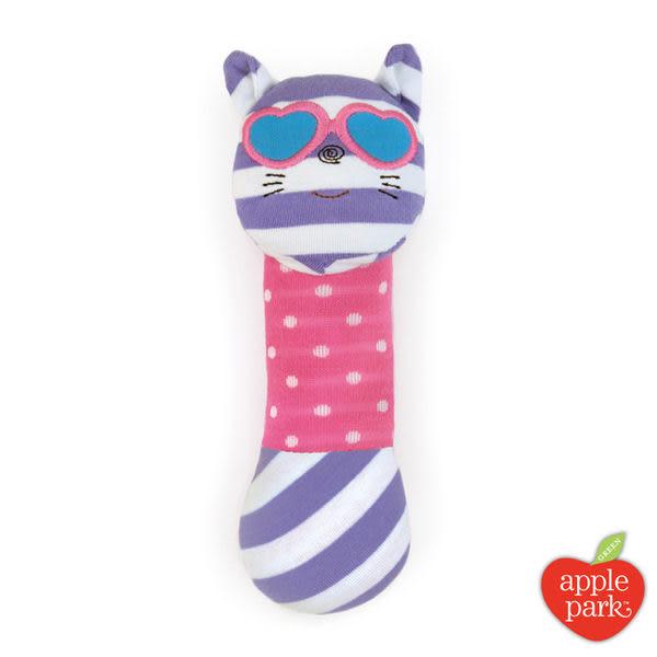 美國 Apple Park 農場好朋友 有機棉安撫啾啾棒 - 時尚靚貓