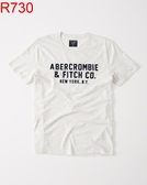 AF Abercrombie & Fitch A&F A & F 男 當季最新現貨 短袖T恤 AF R730
