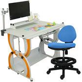 【時尚屋】愛德華兒童成長書桌椅組DE-100A/C/M2/12色可選/免運費/台灣製