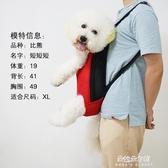 寵物背包 狗狗背包胸前包寵物包狗狗外出雙肩包便攜包泰迪包網格透氣旅行包 朵拉朵YC