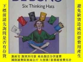 二手書博民逛書店SIX罕見THINGKING HATS六頂思考帽 (英語Y12014 Edward De Bono Pengu