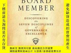 二手書博民逛書店The罕見Imperfect Board Member: Discovering the Seven Discip