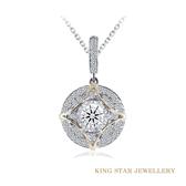 D頂級顏色 完美車工 魅惑香戀30分鑽石項鍊 專屬設計師款 飾品 鑽石 K金 King Star海辰國際珠寶