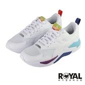 Puma X-Ray Lite Rainbow 白色 彩紅 網布 休閒運動鞋 男女款 NO.B2123【新竹皇家 36886302】