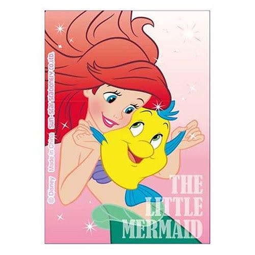 《sun-star》迪士尼公主 stickyle攜帶型剪刀(小美人魚)★funbox生活用品★_UA50136