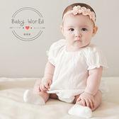 髮帶 韓版 寶寶 三朵花 嬰兒 小花 韓國 髮飾