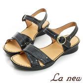 【La new outlet】雙密度氣墊涼鞋(女222065338)