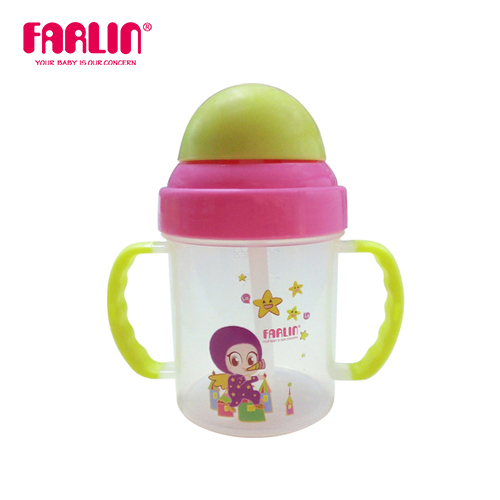 【FARLIN】兒童練習水杯(吸管型/200ml)