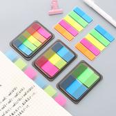 【BlueCat】韓國抽拉式盒裝可撕螢光色便利貼