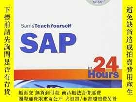 二手書博民逛書店Sams罕見Teach Yourself Sap In 24 Hours (4th Edition)Y2562
