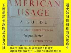 二手書博民逛書店Modern罕見American Usage: A GuideY19139 Follett Wilson Hi