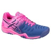 樂買網 ASICS 18FW 頂級 女網球鞋 RESOLUTION 7系列 E751Y-400 贈腿套