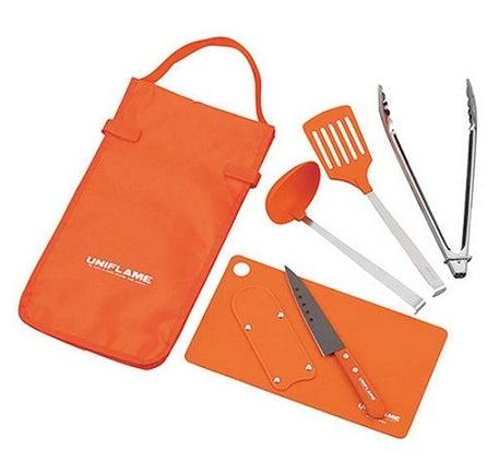 [UNIFLAME] Fan Tool 六件式廚具組 (U662120) 秀山莊戶外用品旗艦店