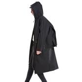 雨衣  背包雨衣外套長款戶外徒步旅行男防水大碼雨披
