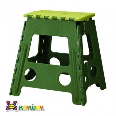 KEYWAY 大百合止滑摺合椅 綠色款 RC-839 39x32.2x39.5cm