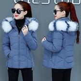 羽絨服女 顯瘦羽絨棉服短款時尚女裝潮冬裝洋氣2021年新款小款2021短裝外套【快速出貨八折搶購】